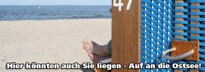 Ostsee Ferienwohnungen - Ostseeurlaub online buchen